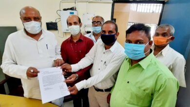 Villagers submitted memorandum to DM in presence of MLA regarding electricity problem